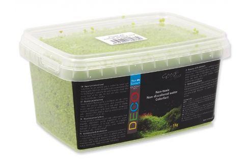 Aqua Excellent Písek Agua Excellent svítivě zelený 1kg Akvarijní písky