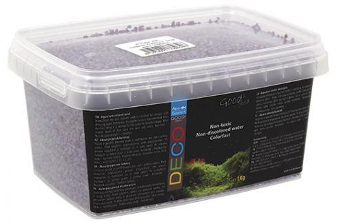 Písek Aqua Excellent svítivě fialový 1kg Akvarijní písky