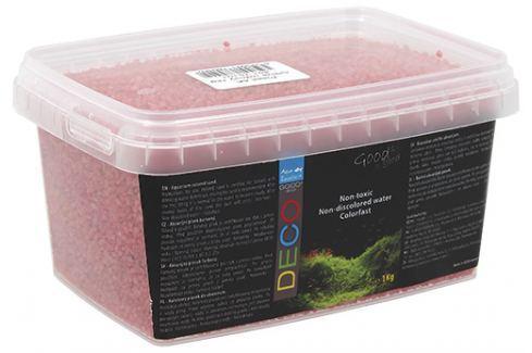 Písek Aqua Excellent svítivě růžový 1kg Akvarijní písky