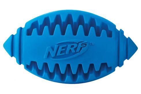 Hračka NERF gumový rugby míč dentální 12,5cm Hračky pro psy