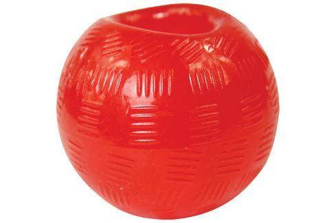 Hračka DOG FANTASY Strong míček gumový červený 9,5cm Hračky pro psy