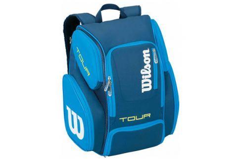 Batoh na rakety Wilson Tour V Backpack Blue Tenisové tašky
