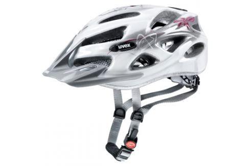 Uvex ONYX LADY LINE WHITE-RED 2017 Cyklistické helmy