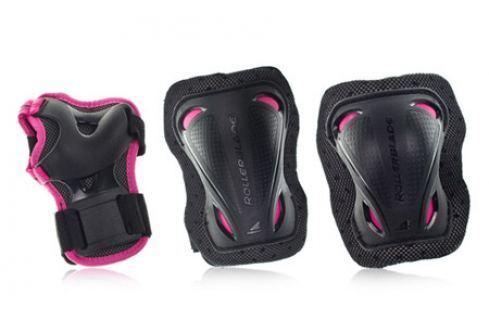 Inline chrániče Rollerblade Bladegear Junior Pink Chrániče na in-line