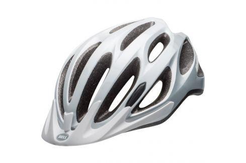 Cyklistická helma BELL Traverse bílo-stříbrná Cyklistické helmy