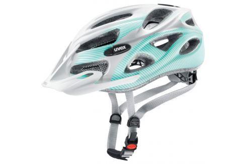 Dámská cyklistická helma Uvex Onyx CC Lady bílá Cyklistické helmy