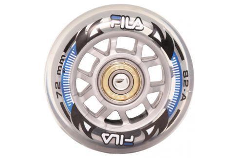Inline kolečka Fila 72 mm 8ks + ložiska ABEC 5 Sady 8 ks koleček