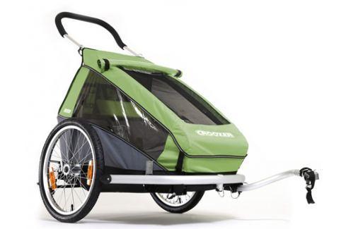 TESTOVACÍ: Dětský vozík Croozer Kid FOR 1 Sedačky a vozíky
