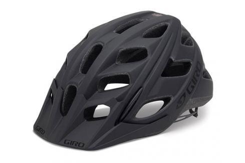 GIRO Hex matt black 2017 Cyklistické helmy