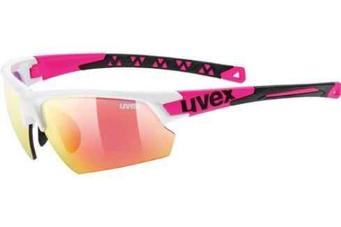 Cyklistické brýle Uvex Sportstyle 224 bílo-růžové Cyklistické brýle