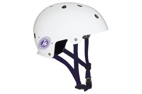 Inline helma K2 Varsity White-Purple Helmy a přilby na in-line