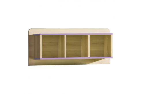 Tempo Kondela Police EGO L9 - fialová Sady dětského nábytku