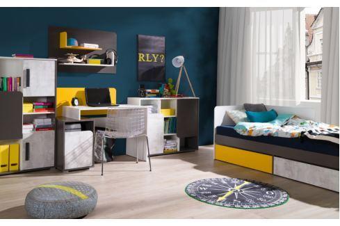 Falco Dětský pokoj Bruno sestava B Sady dětského nábytku