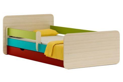 Vomaks Dětská postel MELO 20 + MATRACE - 1834/MIX Sady dětského nábytku