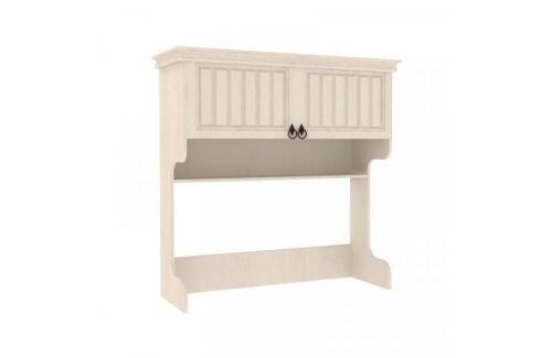 Lubidom Nadstavba na psací stůl Amelie - bílá provence Sady dětského nábytku