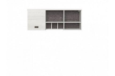 BRW Závěsná skříňka Namur SFW1D - modřín sibiu světlý Sady dětského nábytku