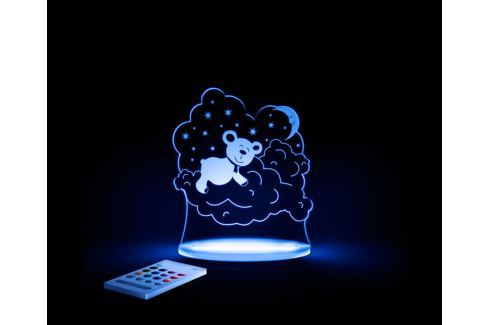 Aloka Noční světýlko Méďa + ovladač pro volbu barev Noční světýlka a lampičky