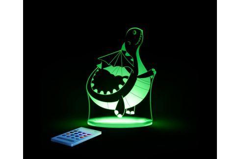 Aloka Noční světýlko Dráček + ovladač pro volbu barev Noční světýlka a lampičky