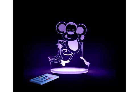 Aloka Noční světýlko Opička + ovladač pro volbu barev Noční světýlka a lampičky