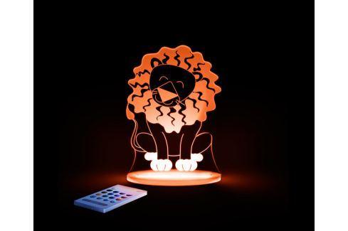 Aloka Noční světýlko Lev + ovladač pro volbu barev Noční světýlka a lampičky