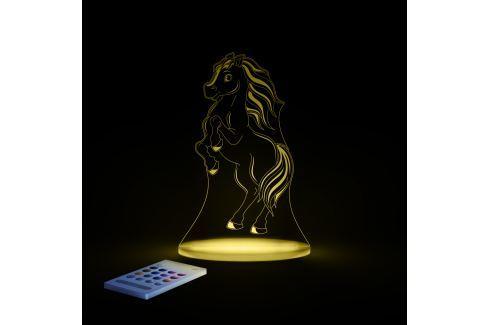 Aloka Noční světýlko Koník + ovladač pro volbu barev Noční světýlka a lampičky