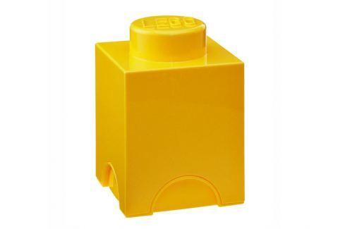 LEGO® Storage Malý úložný box - žlutý Krabice a boxy
