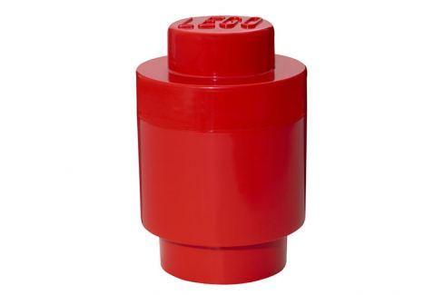 LEGO® Storage Lego úložný box kulatý červený Krabice a boxy