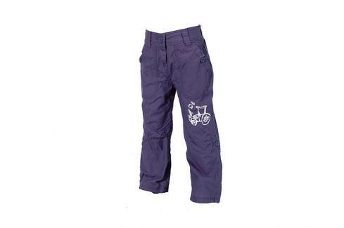 Bugga Chlapecké roll-up kalhoty s podšívkou - modré Dětské Kalhoty
