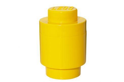 LEGO® Storage Úložný box kulatý - žlutý Krabice a boxy