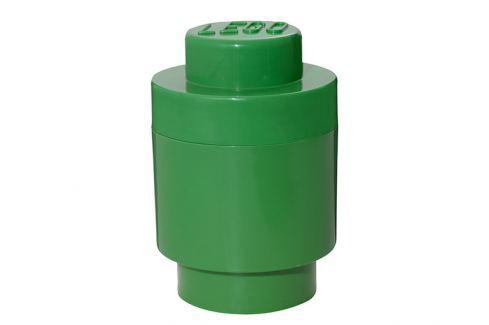 LEGO® Storage Lego úložný box kulatý tmavě zelený Krabice a boxy