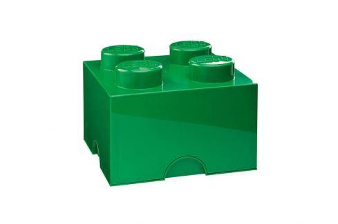 LEGO® Storage Lego úložný box tmavě zelený Krabice a boxy