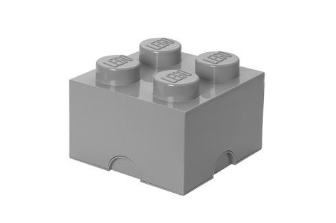 LEGO® Storage Lego úložný box šedý Krabice a boxy