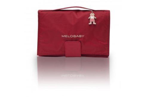 Melobaby MELOROUGE - červená taška + světle hnědá podložka Kočárky a příslušenství