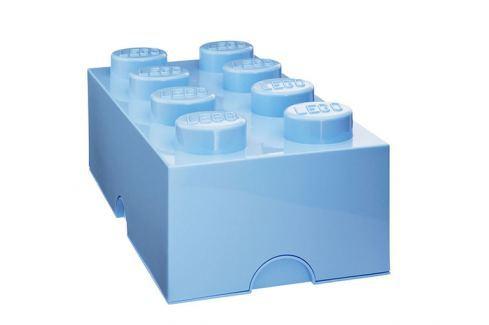 LEGO® Storage Velký úložný box - světle modrý Krabice a boxy