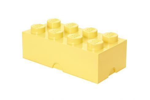 LEGO® Storage Velký úložný box - světle žlutý Krabice a boxy