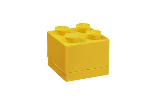 LEGO® Storage Úložný box Mini - žlutý Krabice a boxy