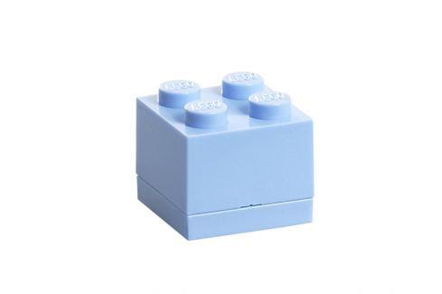 LEGO® Storage Úložný box Mini - světle modrý Krabice a boxy