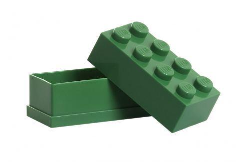 LEGO® Storage Lego mini úložný box tmavě zelený Krabice a boxy