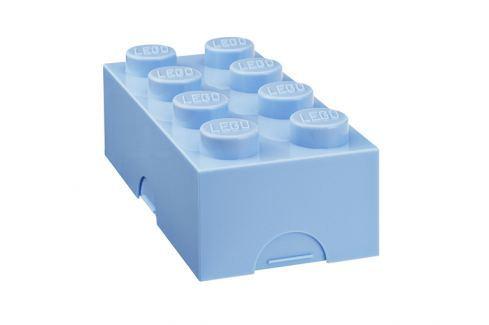 LEGO® Storage Svačinový Lego box světle modrý Svačinové boxy
