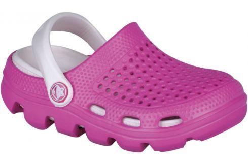 Coqui Dívčí sandály Bugy - fuchsiové Sandály