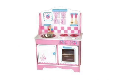 ANDREU Toys Růžová kuchyňka Kuchyňky, dílny a hrací nábytek