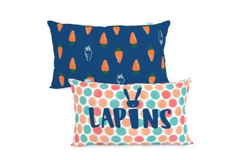 Moshi Moshi Dětský povlak na polštář Lapins, 50x30 cm Povlaky na polštáře