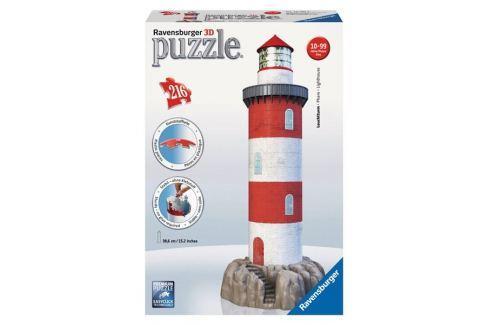 Ravensburger Puzzle Maják v příboji 3D 216 dílků Puzzle
