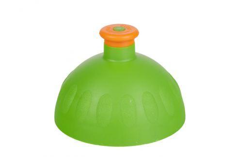 Zdravá lahev Náhradní kompletní víčko zelené/zátka oranžová Lahvičky