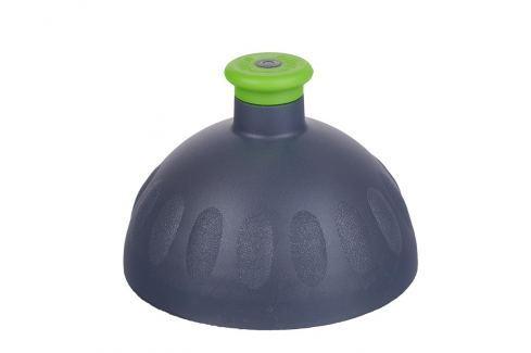 Zdravá lahev Náhradní kompletní víčko antracit/zátka zelená Lahvičky