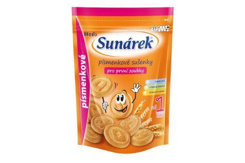 Sunárek dětské sušenky písmenkové 2x150g Sušenky