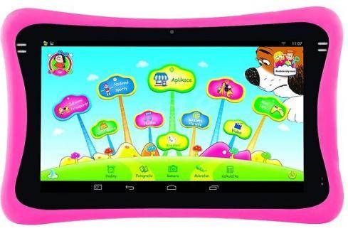 Gogen Tablet Max Pad 9 Maxipes Fík, černo-růžový KONEC Tablety, notebooky a hrací konzole