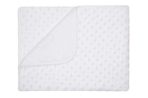 My Best Home Deka Maia, 80x90 cm - bílá Dětské deky