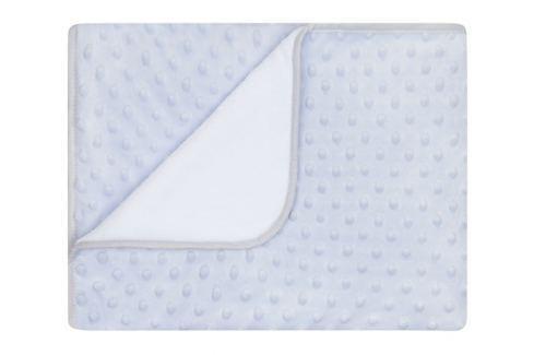 My Best Home Deka Maia, 80x90 cm - stříbrno-šedá Dětské deky