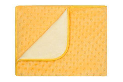 My Best Home Deka Maia, 80x90 cm - žlutá Dětské deky